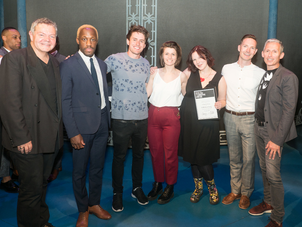 Anthony Drewe, Giles Terera, Tom Lees, Georgia Frost, Claire Rivers, Dan Gillespie Se Photo