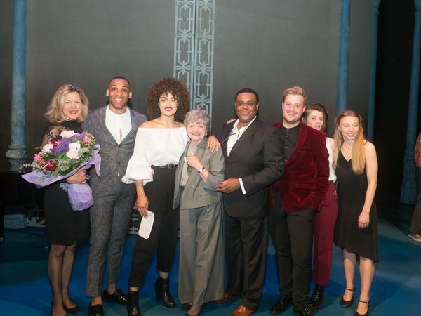 Janie Dee, Shaq Taylor, Izuka Hoyle, Julia McKenzie, Clive Rowe, Oscar Conlon-Morrey, Photo