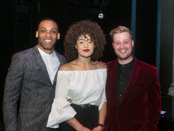 Shaq Taylor, Izuka Hoyle and Oscar Conlon-Morrey