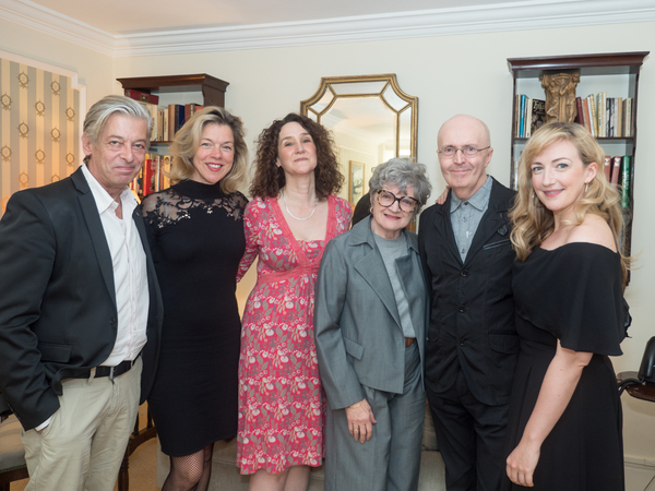 Simon Lee, Janie Dee, Rachel Kavanaugh, Julia McKenzie, Edward Seckerson and Alex You Photo