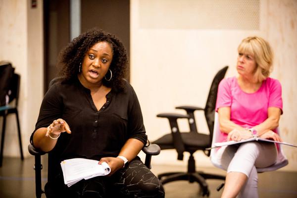Sandra Marvin and Rosemary Ashe