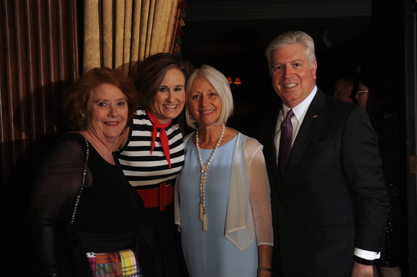Helen Hanna Casey; Helen Wylie; Martha McElhattan and Kent McElhatta Photo