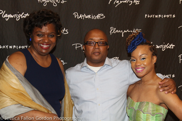 Kirsten Childs, Robert O'Hara and Camille A. Brown