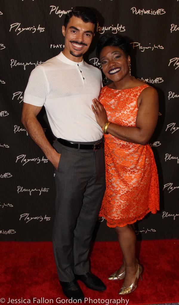 Yurel Echezarreta and Kenita R. Miller Photo