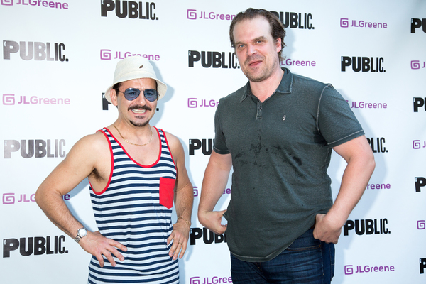Max Casella, David Harbour