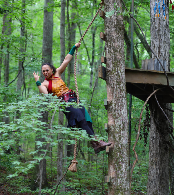 Photo Flash: Zip Into the Forest with Serenbe's Immersive ROBIN HOOD