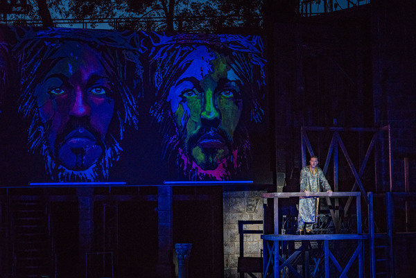 Photo Flash: First Look at Bryce Ryness, Constantine Maroulis and More in JESUS CHRIST SUPERSTAR at The Muny