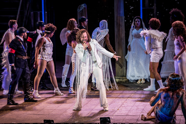 Constantine Maroulis and the company