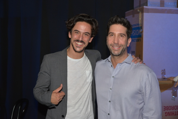 Ben Perry and David Schwimmer