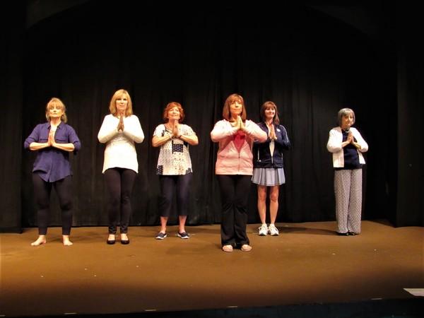 Darla Allen, Christine Reynolds, Beth Jepson, Veronica Strickland, Michelle Mania, Maureen Noel