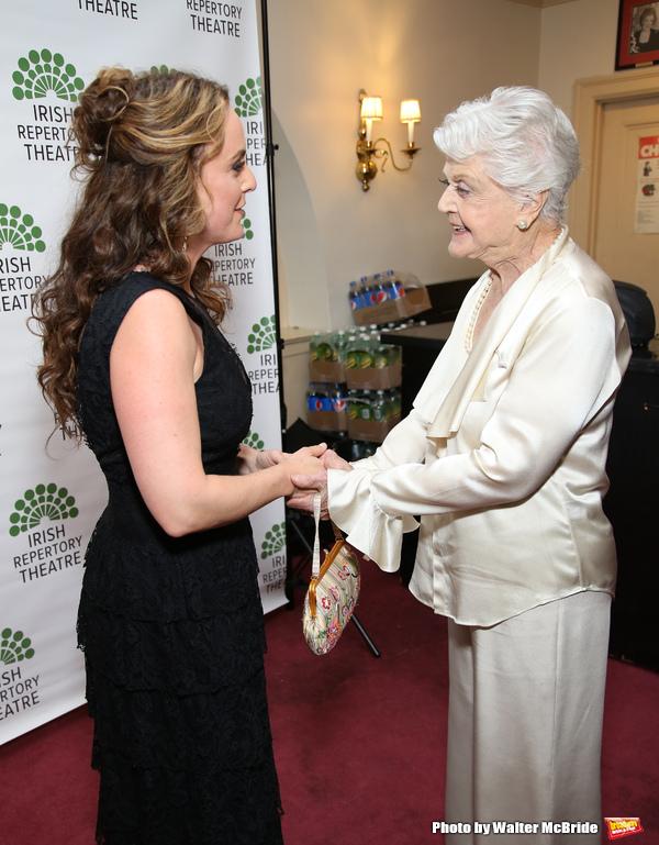 Melissa Errico and Angela Lansbury