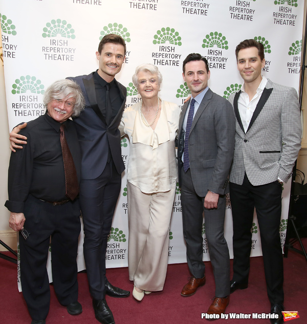Ken Jennings, Mark Evans, Angela Lansbury, Max Von Essen and Ryan Silverman