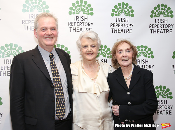 Ciaran O'Reilly, Angela Lansbury and Charlotte Moore