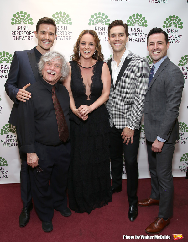 Mark Evans, Ken Jennings, Melissa errico, Ryan Silverman and Max Von Essen