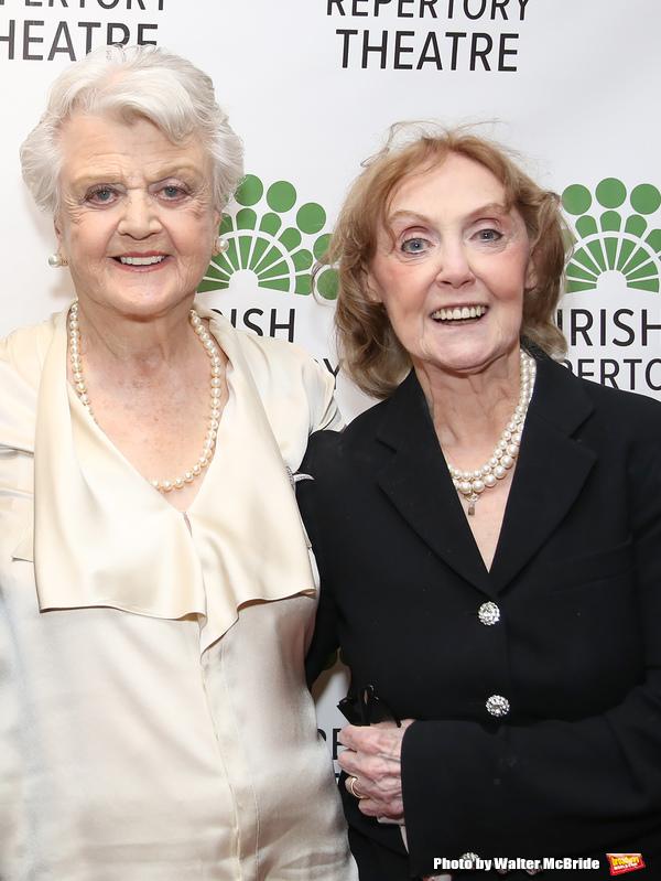 Angela Lansbury and Charlotte Moore