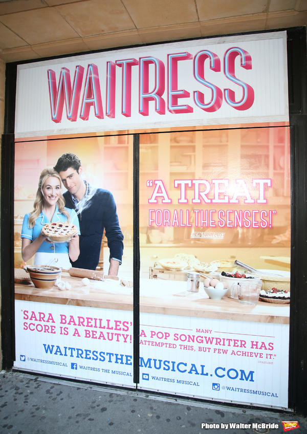 Photo Coverage: WAITRESS Gang Is Opening Up Joe's Pie Diner at the Brooks Atkinson Theatre!