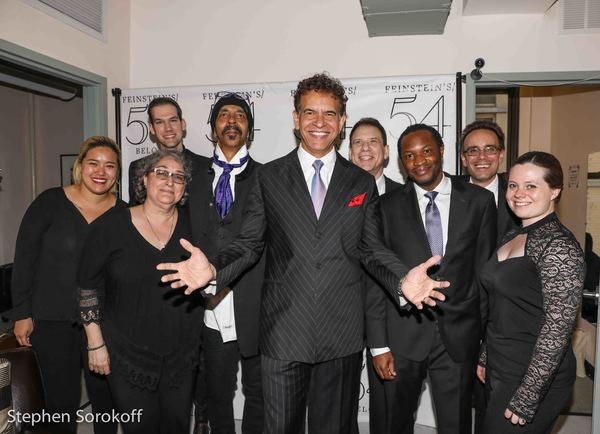 Brian Stokes Mitchell & Orchestra, Tedd Firth music director, Steve Bargenetti, Gary  Photo