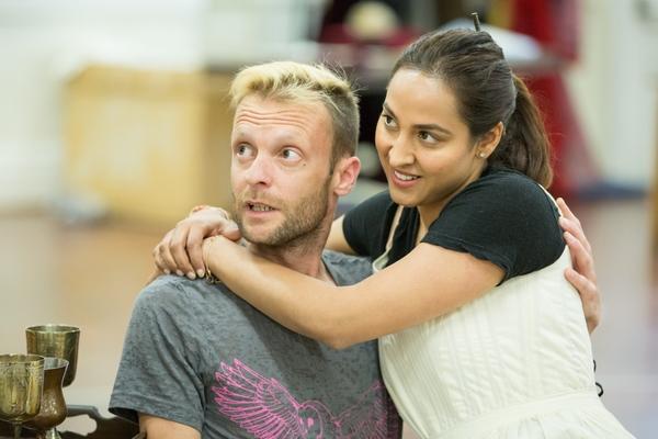 Carl Prekopp and Sheena Bhattessa