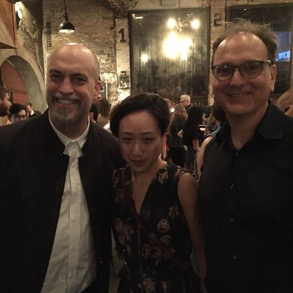 Lindsay Jones, Deanne Choi and John Gromada