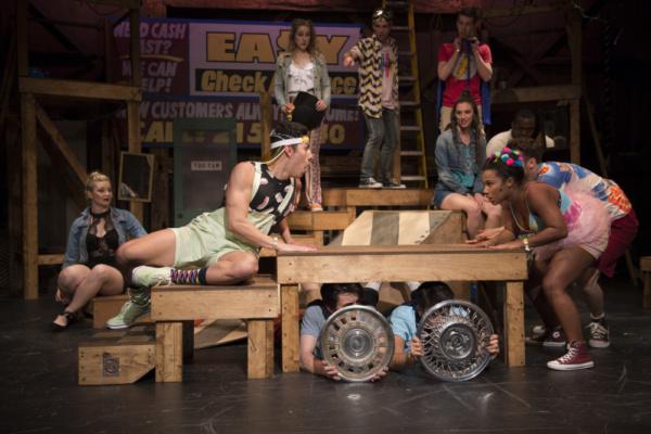 Photo Flash: GODSPELL at New London Barn Playhouse