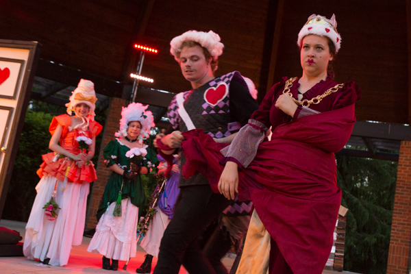 Photo Coverage: First look at Curtain Players' ALICE: A variation on Lewis Carroll's Alice in Wonderland