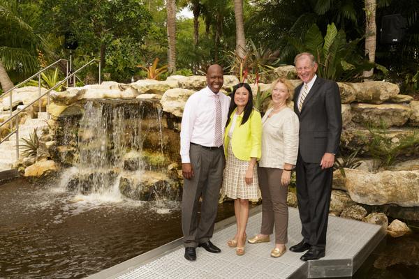 Daryl Houston, Rochelle Wolberg, Charlotte Laurent Ottomane, and Bradley C. Hurlburt Photo