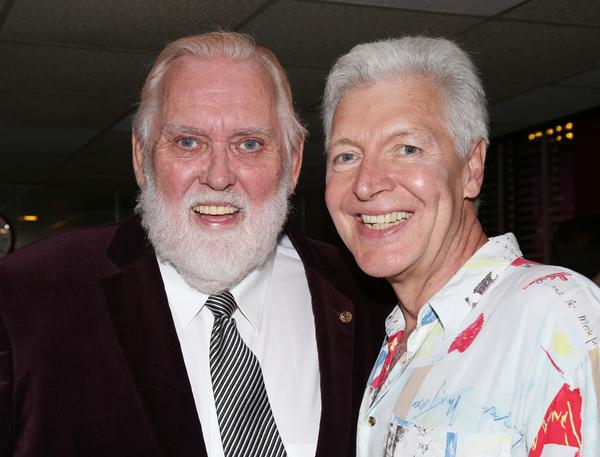Jim Brochu and Tony Sheldon