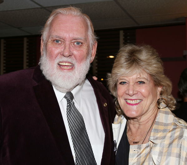 Jim Brochu and Lynn Sherr