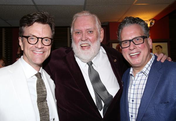Jim Caruso, Jim Brochu, and Billy Stritch