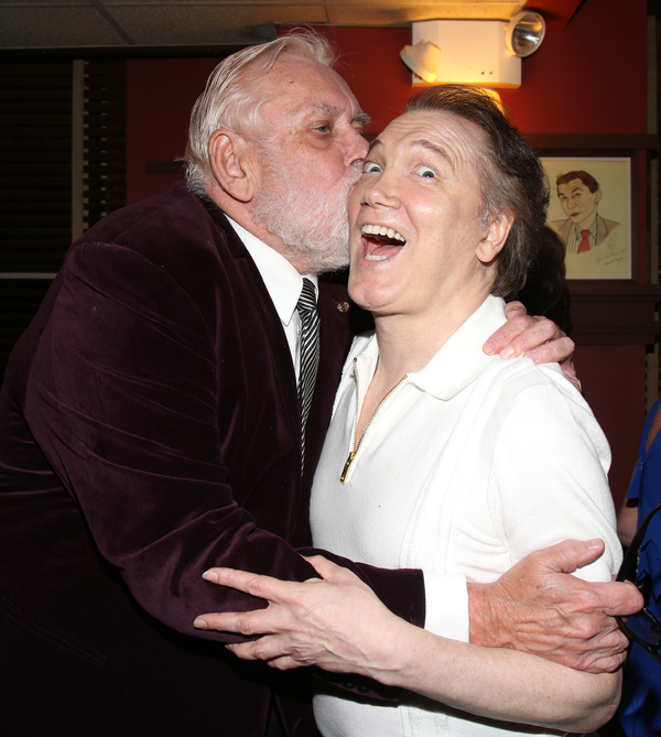 Jim Brochu and Charles Busch Photo