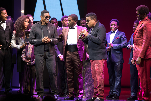 Lucy St Louis, Jackie Jackson, Cedric Neal, and Tito Jackson
