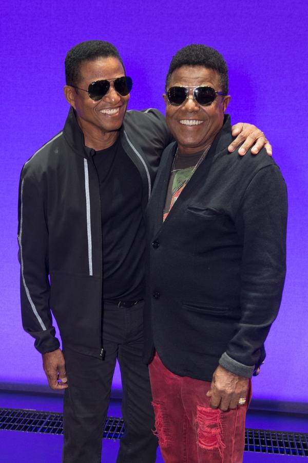 Jackie Jackson and Tito Jackson