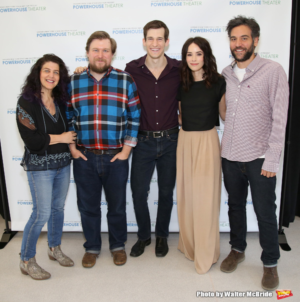 Sheryl Kaller, Michael Chernus, David T. Patterson, Abigail Spencer and Josh Radnor