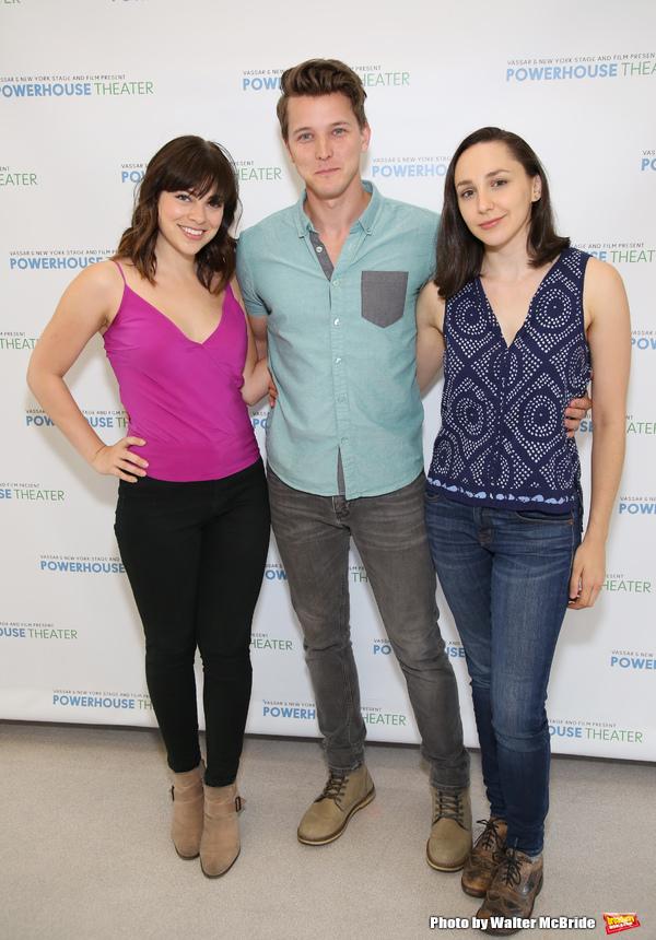 Krysta Rodriguez, Dave Thomas Brown and Lauren Patten  Photo