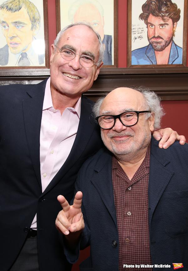 Todd Haimes and Danny DeVito