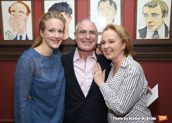 Katie Finneran, Todd Haimes and Kate Burton