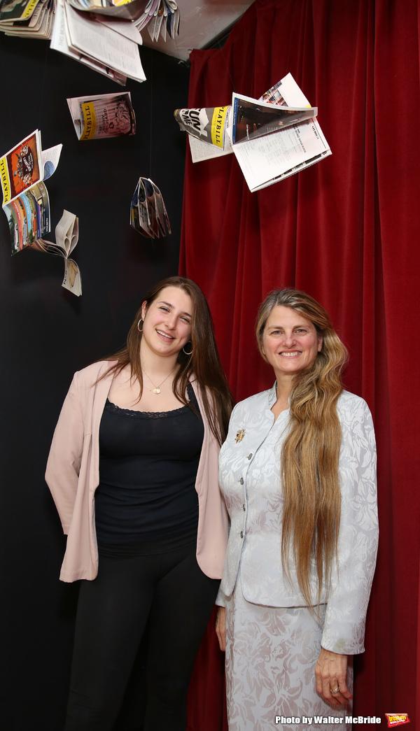 Leah Lane and Bonnie Comley