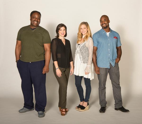 Terence Archie, Veronica J. Keuhn, Audrey Cardwell, and J. Bernard Calloway  Photo