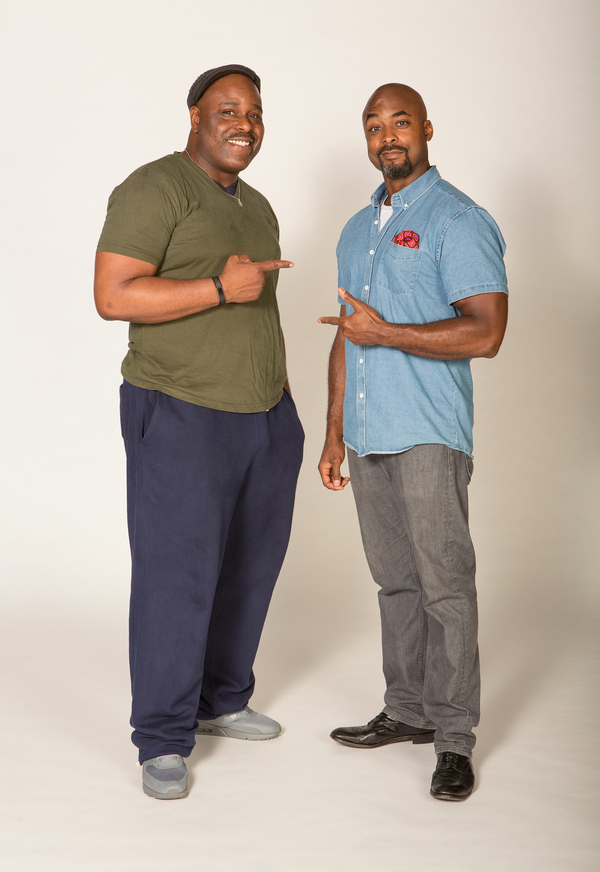 Terence Archie and J. Bernard Calloway  Photo
