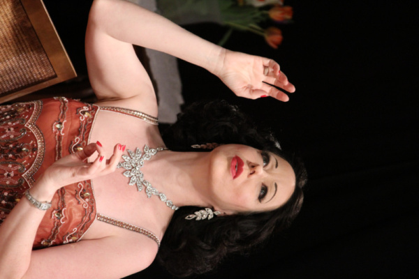 HEDY! Heather Massie as Hedy Lamarr (Photo by Monica Callan) (Photos provided by Jay  Photo