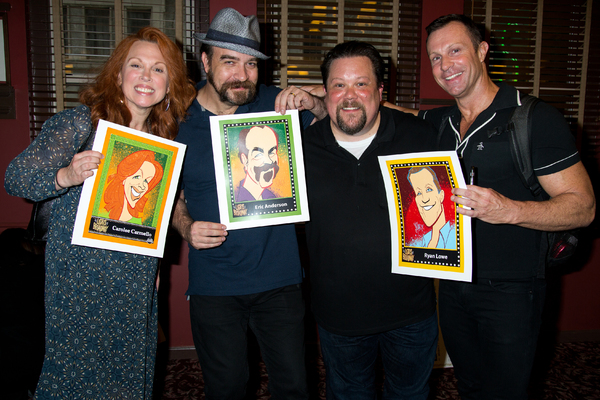 Carolee Carmello, Eric Anderson, Justin Robertson, R. Lowe Photo