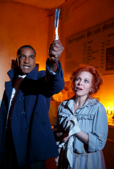 BWW Review:  Norm Lewis and Carolee Carmello Make For A Meatier SWEENEY TODD
