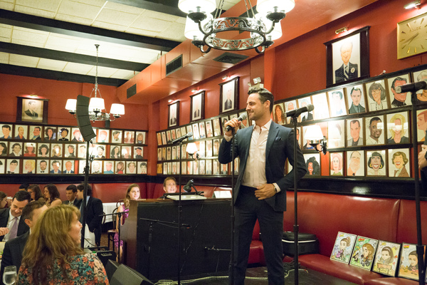 Photo Flash: Max von Essen, Zach Rand, and More Raise Money at Sardi's