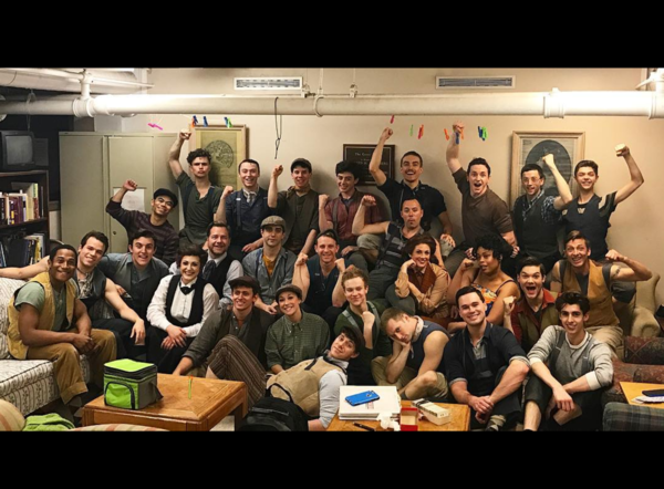 Photo Flash: SUNSET BOULEVARD Prepares to Drive Off Into the Sunset, and More Saturday Intermission Pics!