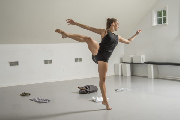 Vanessa Long Dance Company's Principal Dancer Maria Vittoria Villa performing the VLD Photo