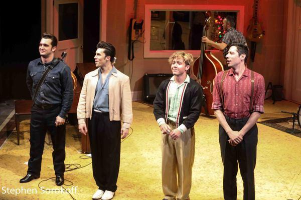 Photo Coverage: MILLION DOLLAR QUARTET Opens at The Berkshire Theatre Group