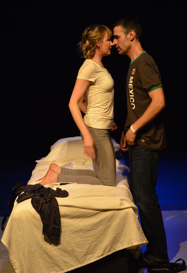 Susannah Hoffman and Mickey Solis