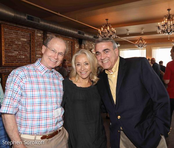 Dr. Norman Boyd, Eda Sorokoff, Charlie Siedenburg Photo