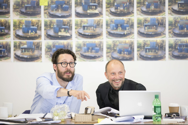 Photo Flash: Inside Rehearsal for A TALE OF TWO CITIES at Regent's Park Open Air Theatre
