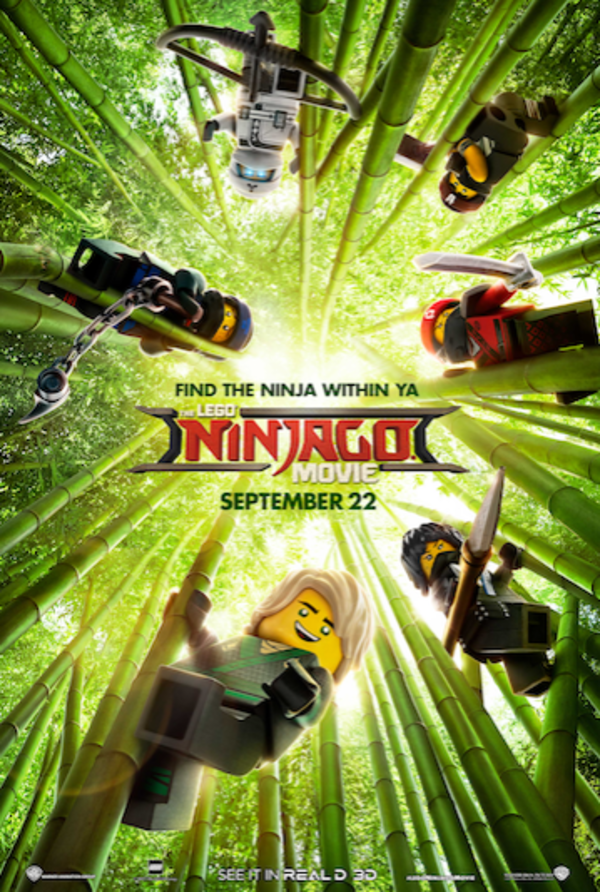 Photo Flash: First Look - New Poster Art for The LEGO NINJAGO Movie!